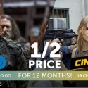 Big savings on premium network channels
