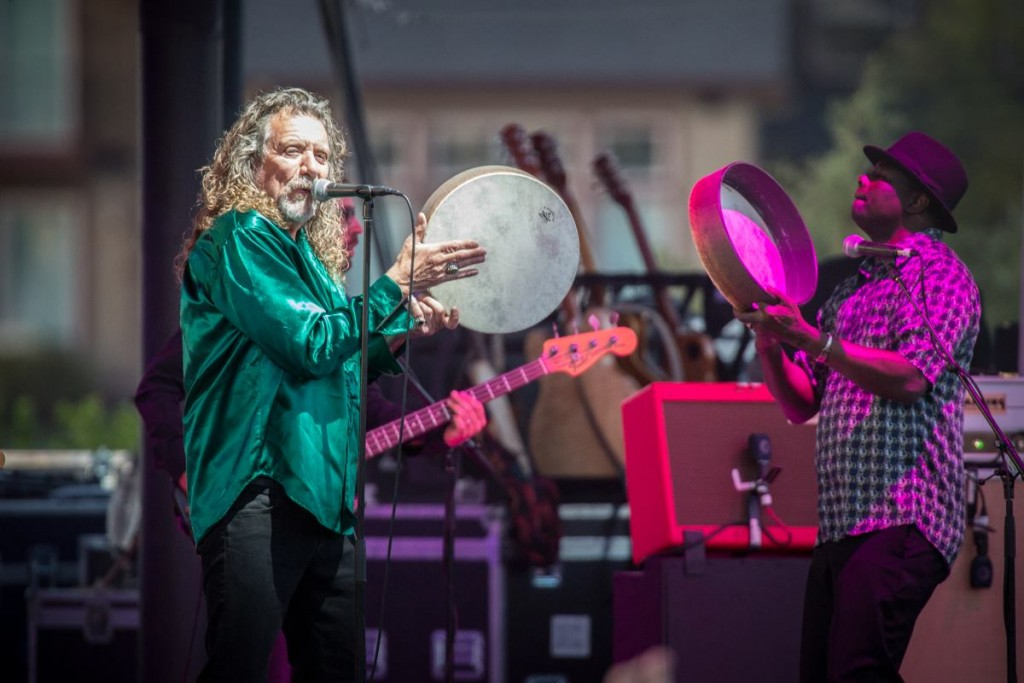 Robert Plant performs Monday night in Bend. Photo courtesy Mike Albright Photography / mikealbright.com.