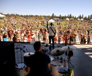 A Summer Sunday concert at Les Schwab Amphitheater.