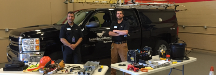 BendBroadband field techs work with at-risk youth program