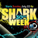 Shark Week kicks off July 22