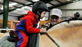 Therapeautic horseback training changes lives image