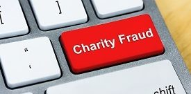 The lowest of the low: charity scammers image