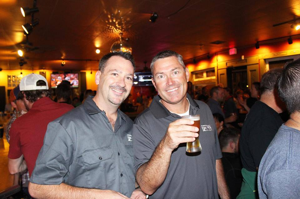 Silver Moon Brewing owners Matt Barrett, left, and James Watt took over Bend's third-oldest brewery two years ago.