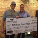 And the 2015 Early Stage Award winner is …